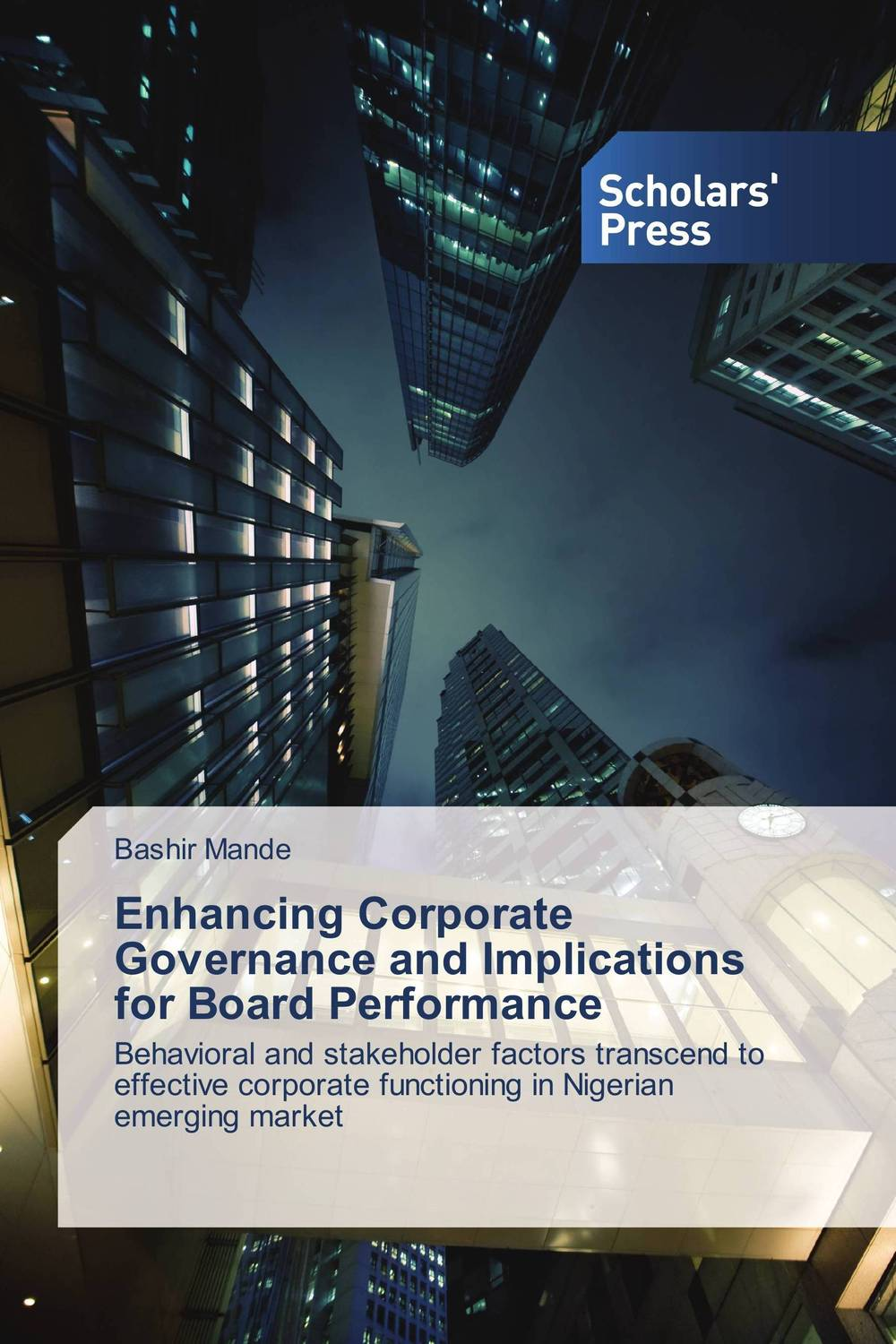 the impact of leverage on the corporate performance on nigerian banks Impact of corporate social responsibility on profitability of nigeria banks odetayo leverage and the level of corporate.