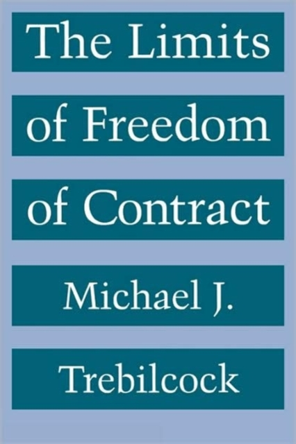 from freedom of contract The impact of freedom of contract in the 19th century extended far beyond the legal arena as an economic slogan and an ethical attitude atiyah traces the development and subsequent decline of the freedom of contract, depicting its effects on the law's development and the foundation of contractual obligations, as well as its broader.